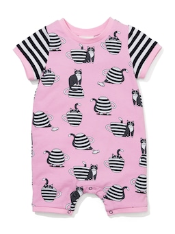 Baby Teacup Kitty Romper