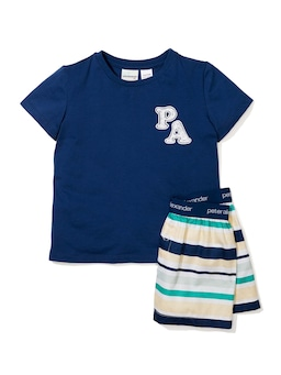 Jnr Boys Stripe Pj Set