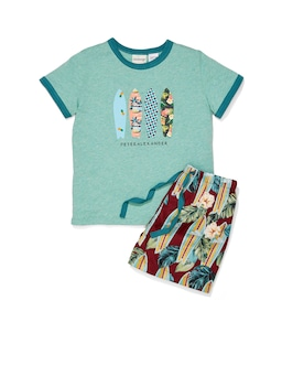 Jnr Boys Surfboard Pj Set