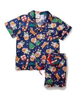 Kids Gingerbread Pj Set