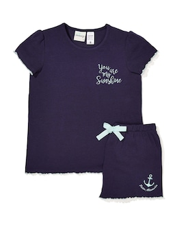 Girls Sea You In The Morning Pj Set