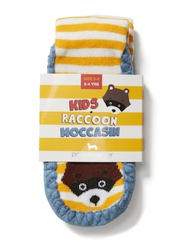Kids Stripe Raccoon Socks
