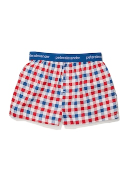Boys Gingham Boxer Short