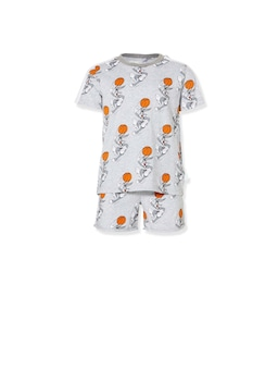 Jnr Boys Space Jam Short Pj Set
