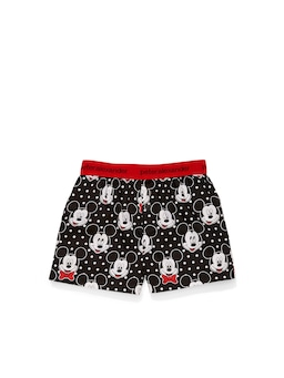 Jnr Kids Christmas Mickey Boxer Short Cracker