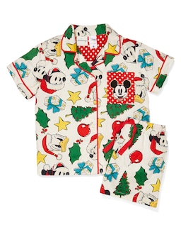 Kids Vintage Mickey Pj Set