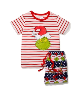 Jnr Kids Grinchmas Pj Set