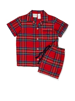 Jnr Kids Christmas Tartan Pj Set