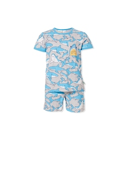 Jnr Boys Shark Pj Set