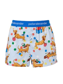 Jnr Kids Christmas Penny Boxer Short Cracker