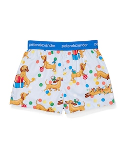 Kids Christmas Penny Boxer Short Cracker