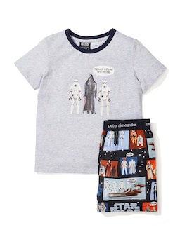 Jnr Boys Star Wars Force Pj Set