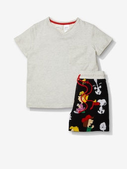 Jnr Boys Snoopy Pj Set