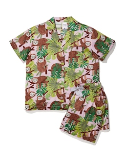 Girls Sloth Pj Set