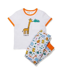 Jnr Boys Giraffe Pj Set