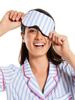 Candy Stripe Eye Mask