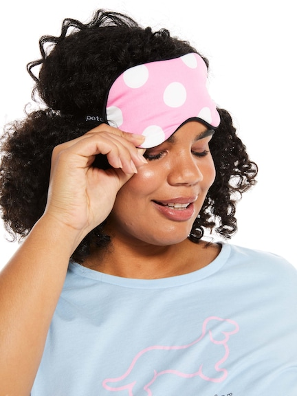 Classic Polka Dot Eye Mask
