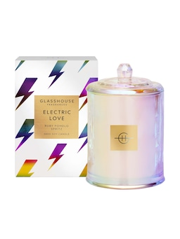 Glasshouse Fragrances Limited Edition Electric Love Soy Candle 380G