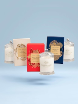 Glasshouse Fragrances Limited Edition Christmas Candle Trio 3 X 60G