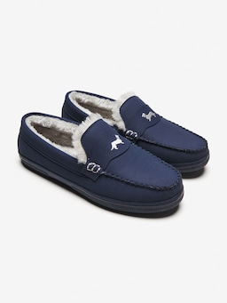 Navy Moccasin