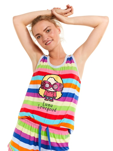 Hp Luna Lovegood Stripe Tank