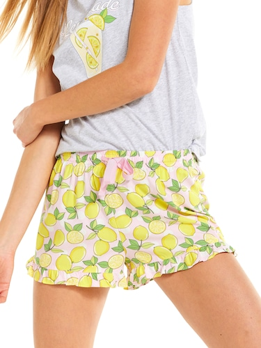 Lemon Frill Edge Short