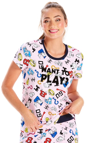 Want To Play Monopoly Tee