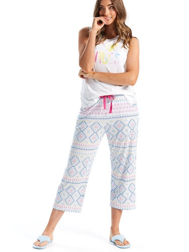 Pretty Colours 3/4 Pj Pant