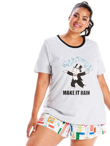P.A. Plus Monopoly Make It Rain Tee