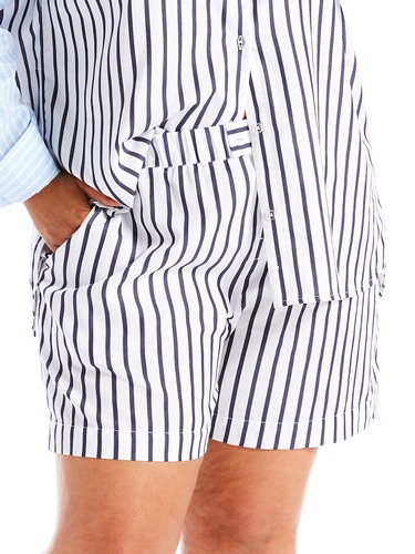 P.A. Plus Boyfriend Stripe Short