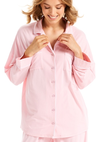 Plain Jane Pink Knit Shirt