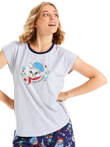 Parisian Kitty Short Sleeve Tee