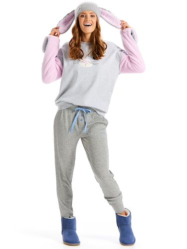 Super Soft Rib Easy Pj Pant