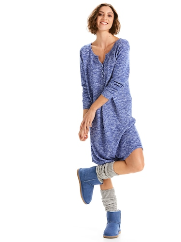 Fluffy Henley Nightie