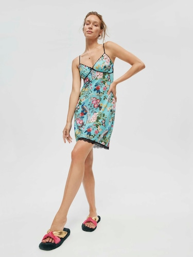 Tartan Check You're A Star Sateen Pj Set