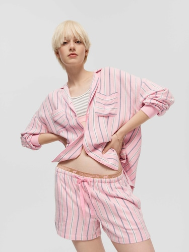 P.A. Plus Peachy Paris 3/4 Pj Pant