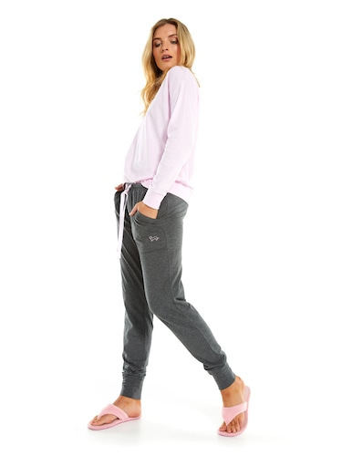 Charcoal Marle Easy Pj Pant