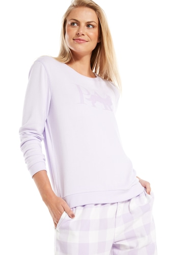 Clothing, Shoes & Accessories Ladies S/m Purple And White Pyjamas Women's Clothing