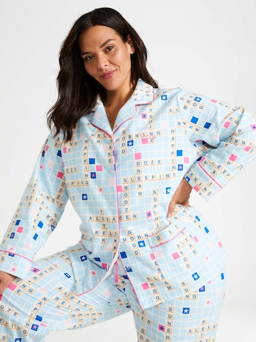 P.A. Plus Lamby Knit Pj Set
