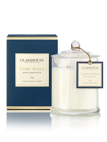 Glasshouse Fragrances Triple-Scented Candles 350G