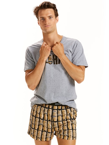 Mens Tiki Boxer Short
