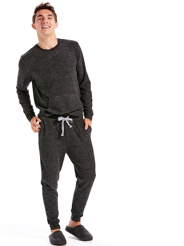 Mens Charcoal Heather Sweatpant