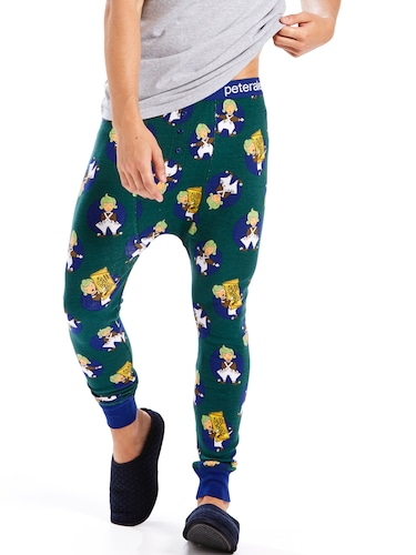 Mens Oompa Loompa Long John Pj Pant
