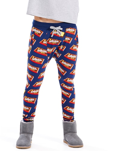 Mens Wonka Bar Fleece Pj Pant