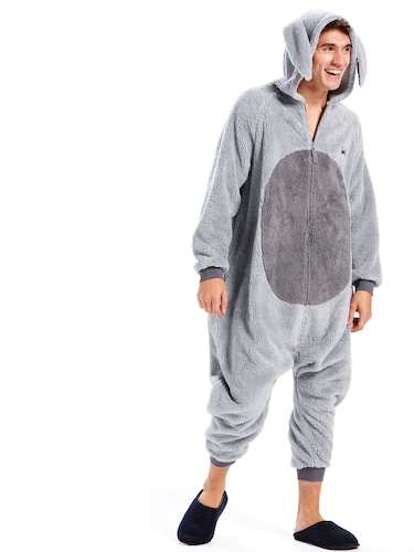 Mens Big Buck Bunny Onesie