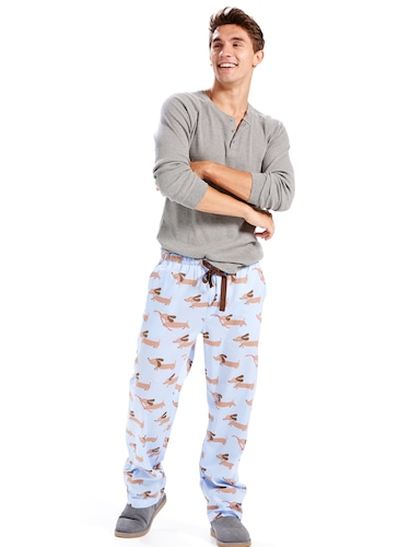 Mens Sausage Dog Pj Pant