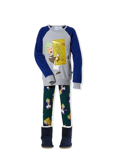 Jnr Boys Wonka Pj Set