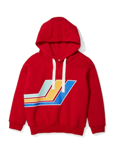 P.A. Play Boys Red Fleece Hoodie