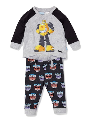 Baby Boys Transformers Pj Set