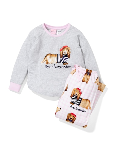 Jnr Girl French Penny Pj Set